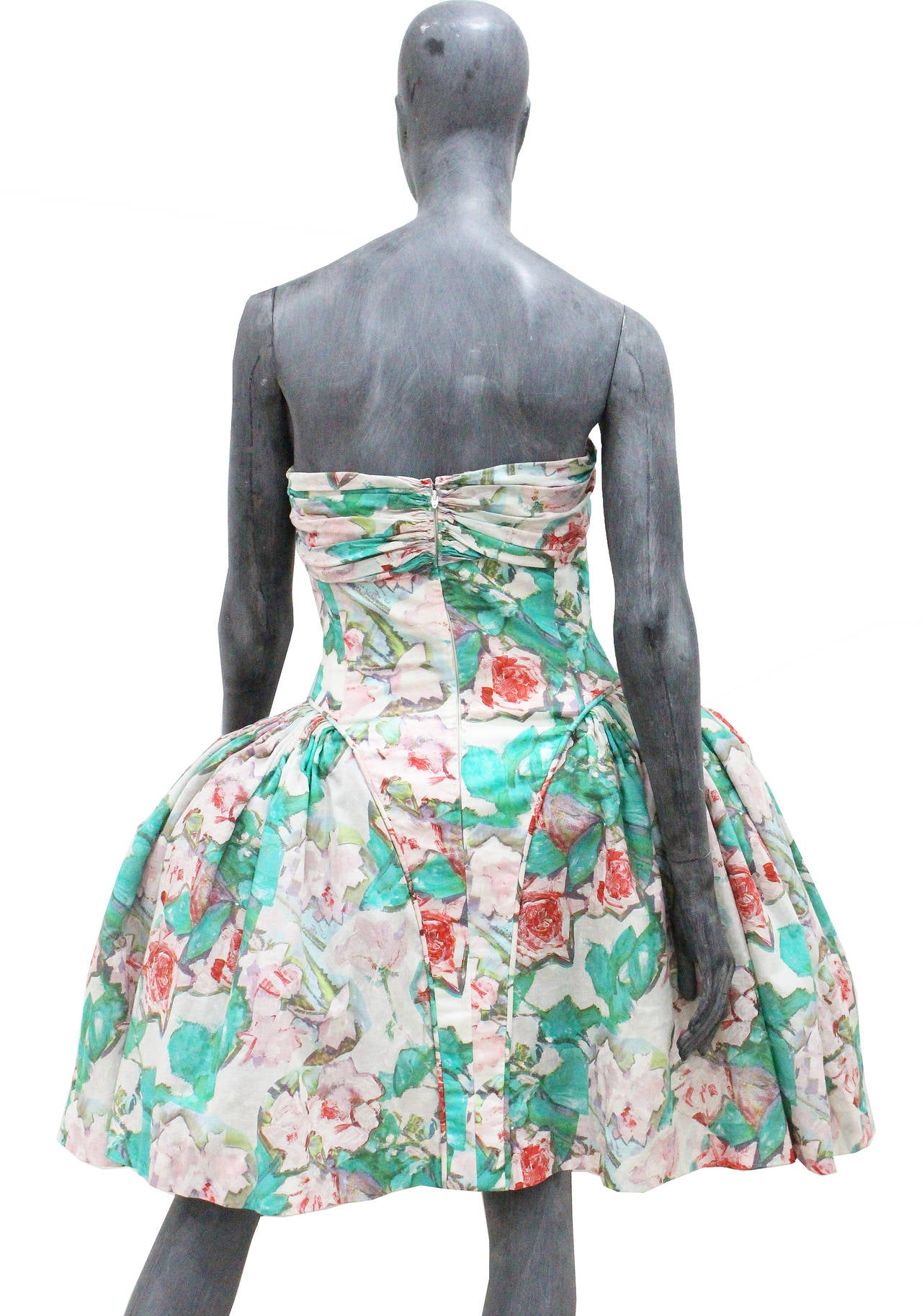 Iconic 1980s Karl Lagerfeld Marie Antoinette Dress S/S 1988 In Excellent Condition For Sale In London, GB