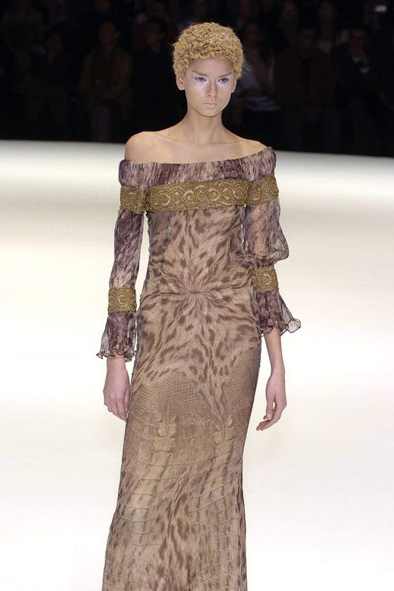 Alexander McQueen Celtic Dress / Fall 2004 6