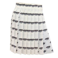 Iconic Prada Lip Skirt (S/S 2000)