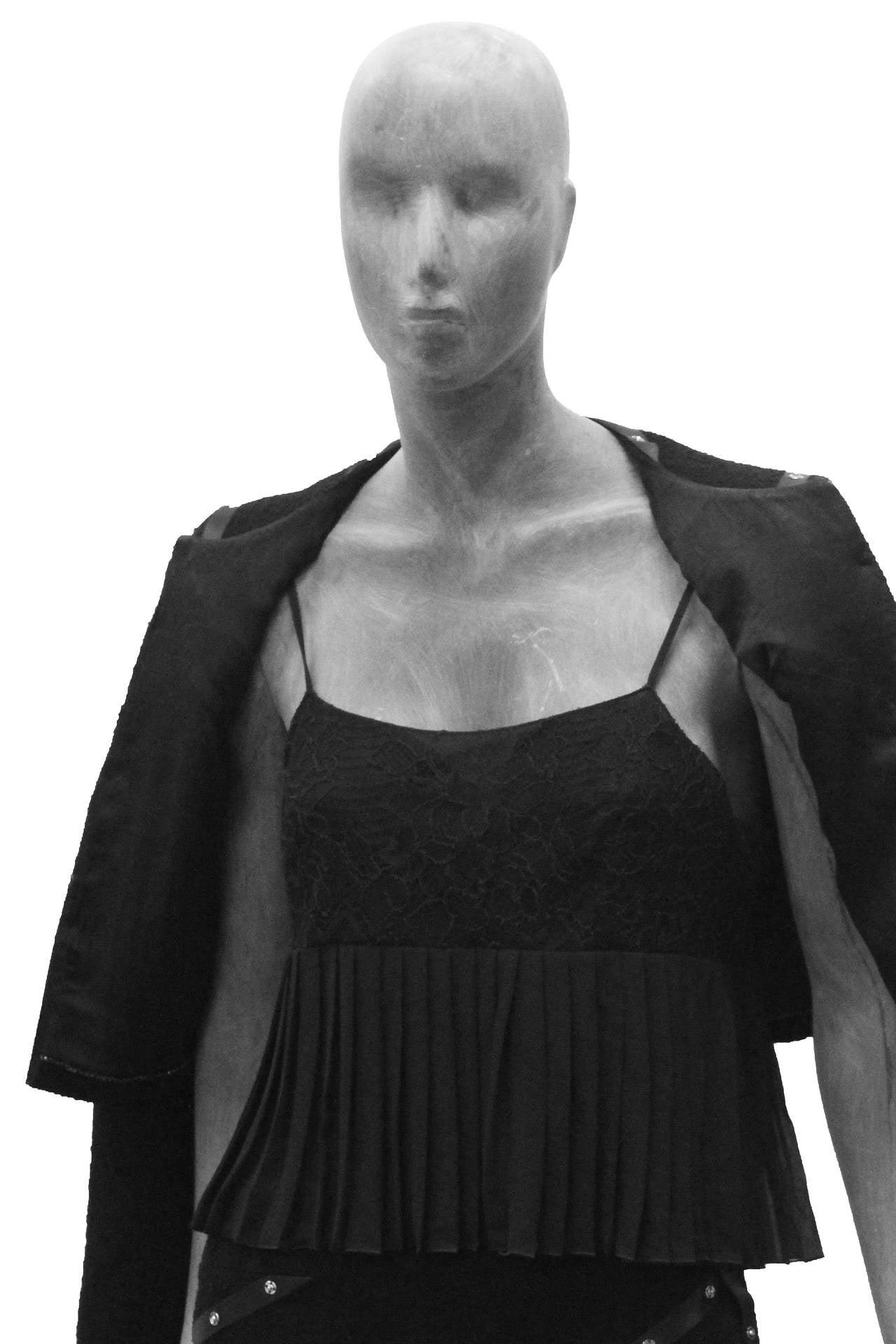 Campaign Chanel Studded Suit Ensemble CIRCA 2003 4