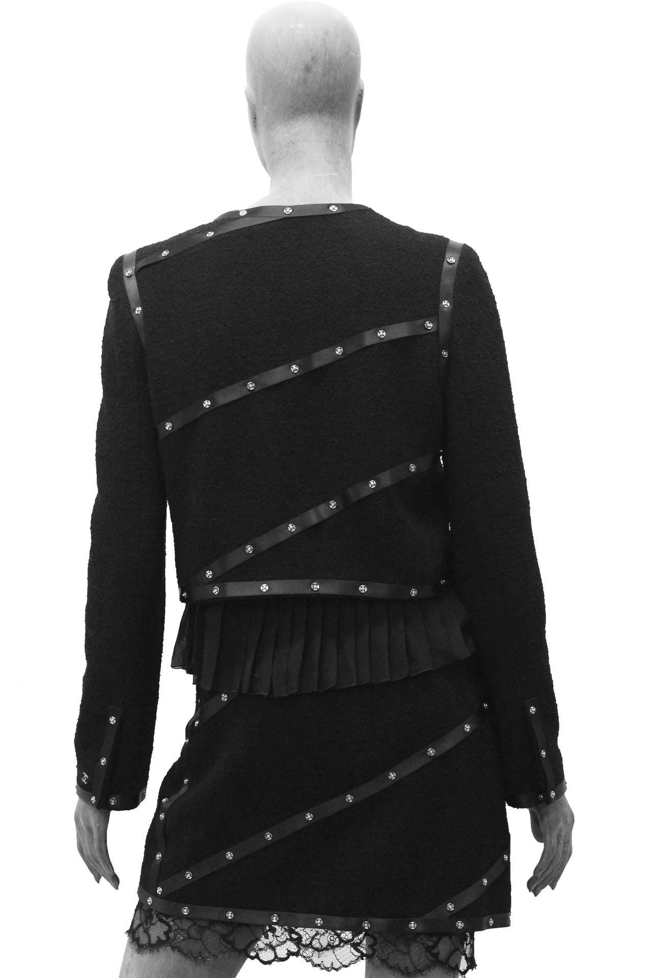 Campaign Chanel Studded Suit Ensemble CIRCA 2003 3