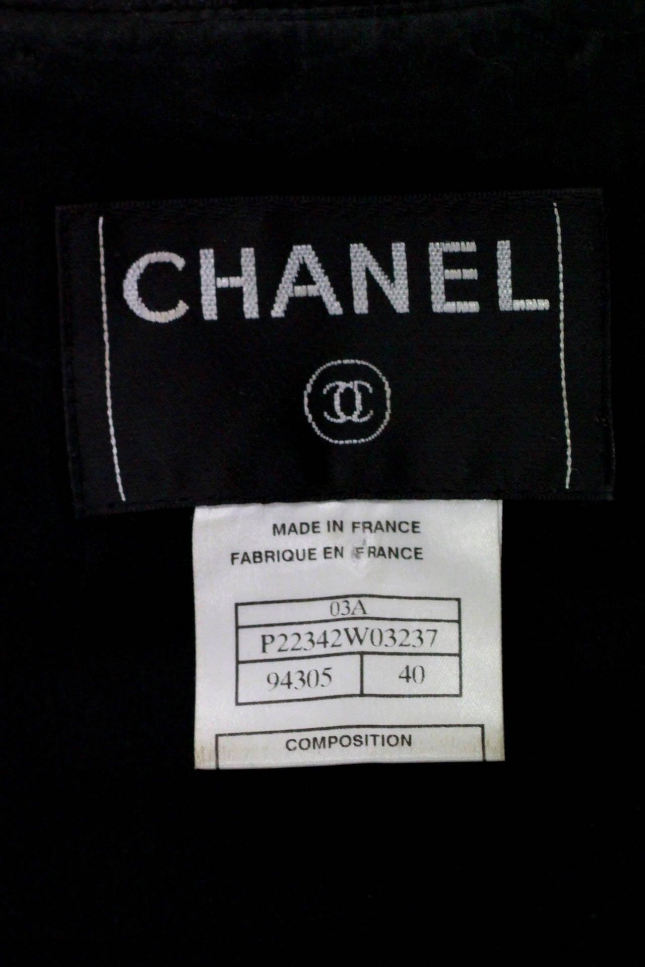 Campaign Chanel Studded Suit Ensemble CIRCA 2003 5