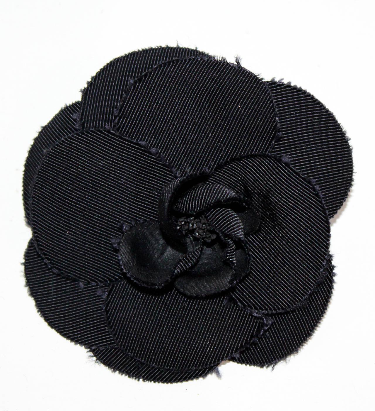 Iconic Vintage Chanel Logo Cashmere Cardigan 8