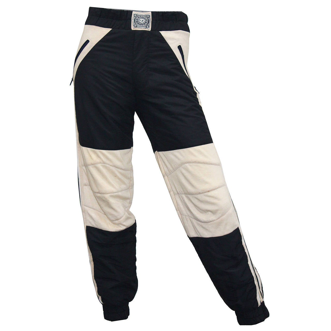 Rare 1980s BODY MAP padded sports trousers For Sale