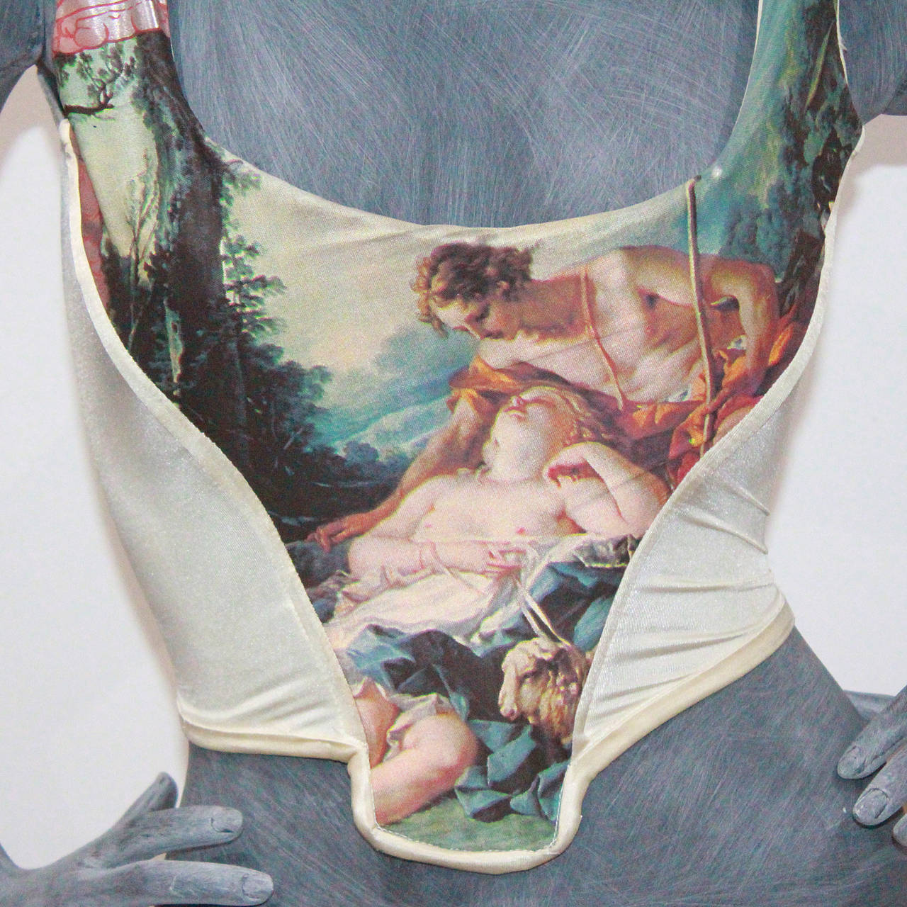 Rare Vivienne Westwood Boucher Corset From The Portrait Collection c.1990 2