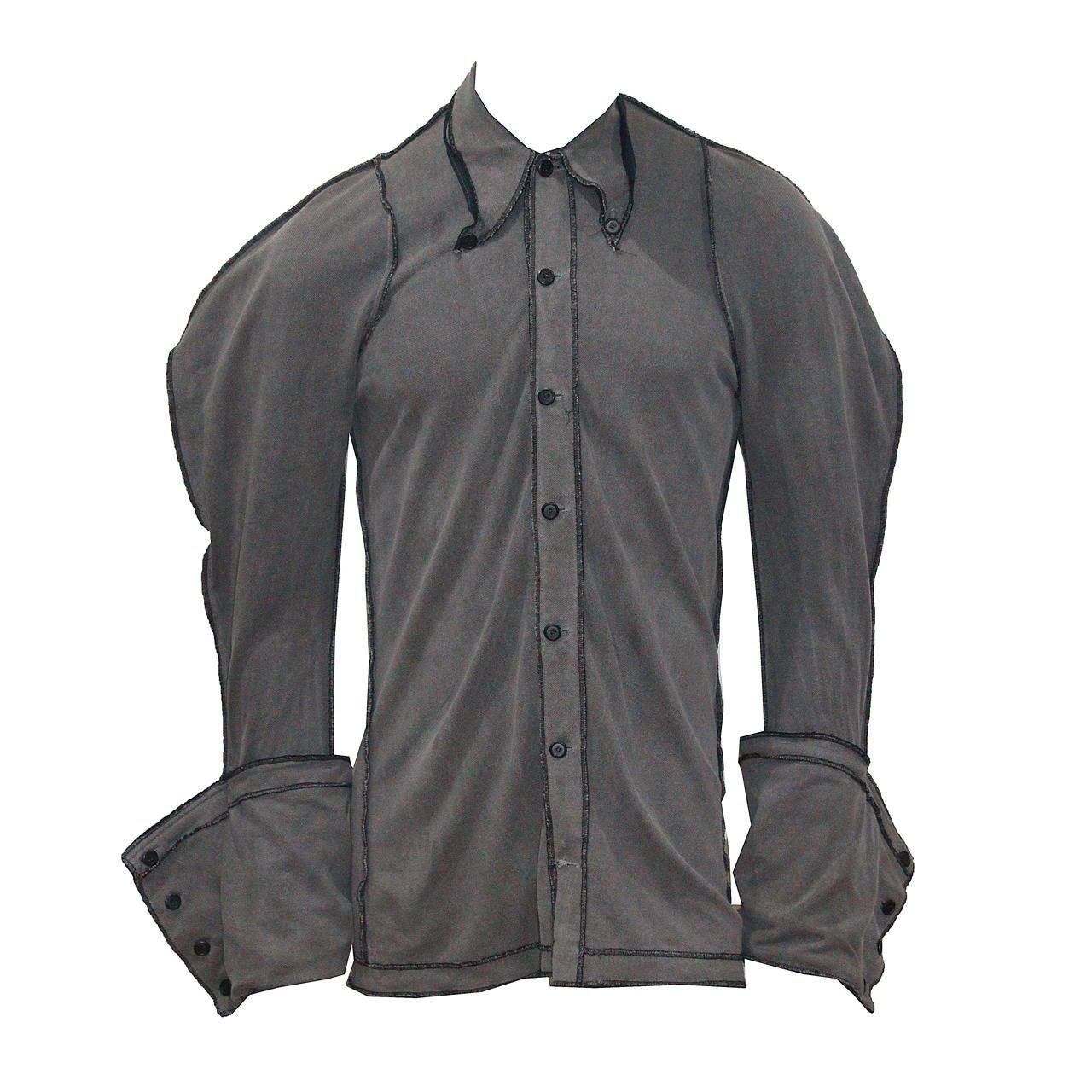 Mens Rare Christopher Nemeth Shirt For Sale at 1stdibs
