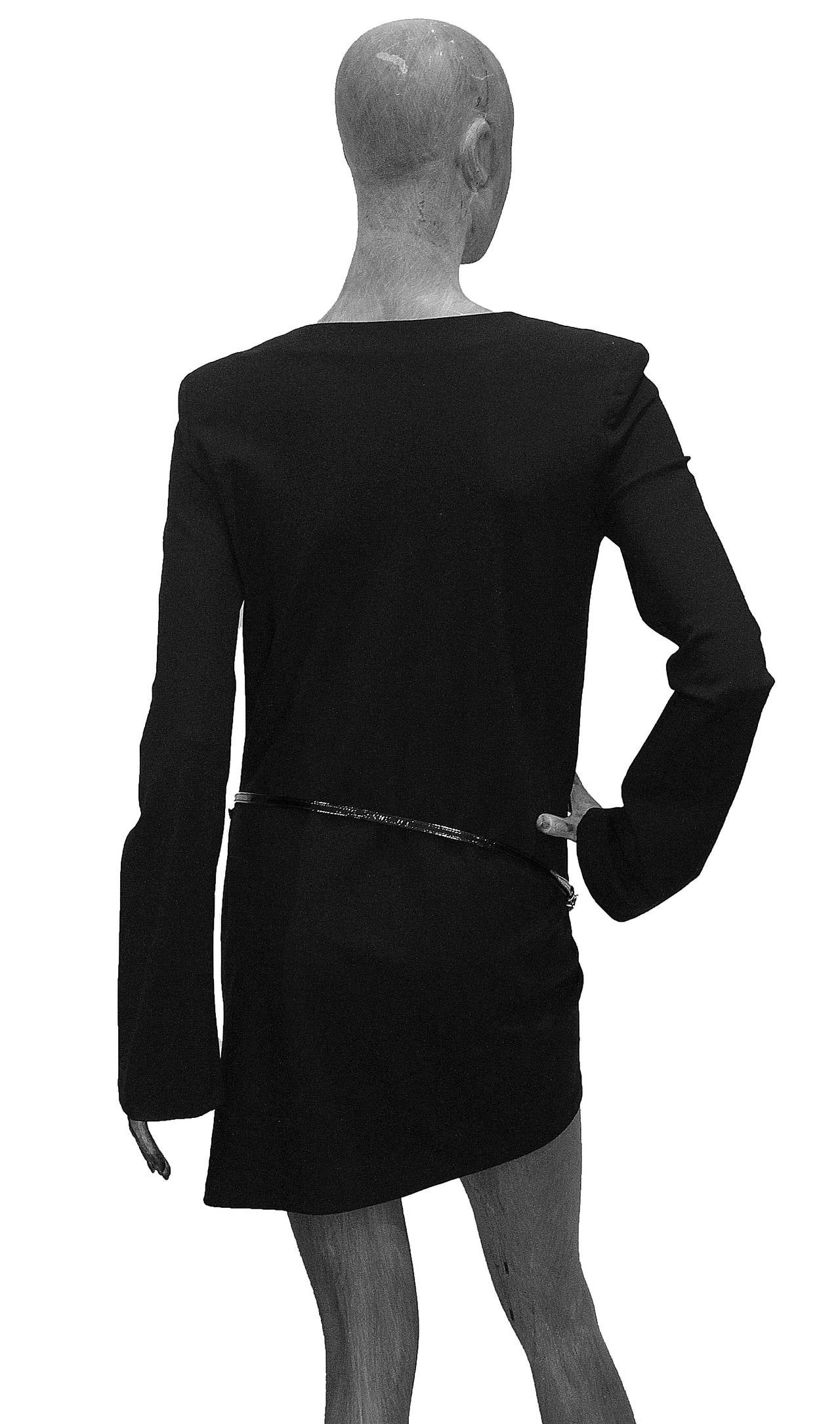 Iconic 90s Tom Ford for Gucci Little Black Dress c. 1997 In Excellent Condition In London, GB