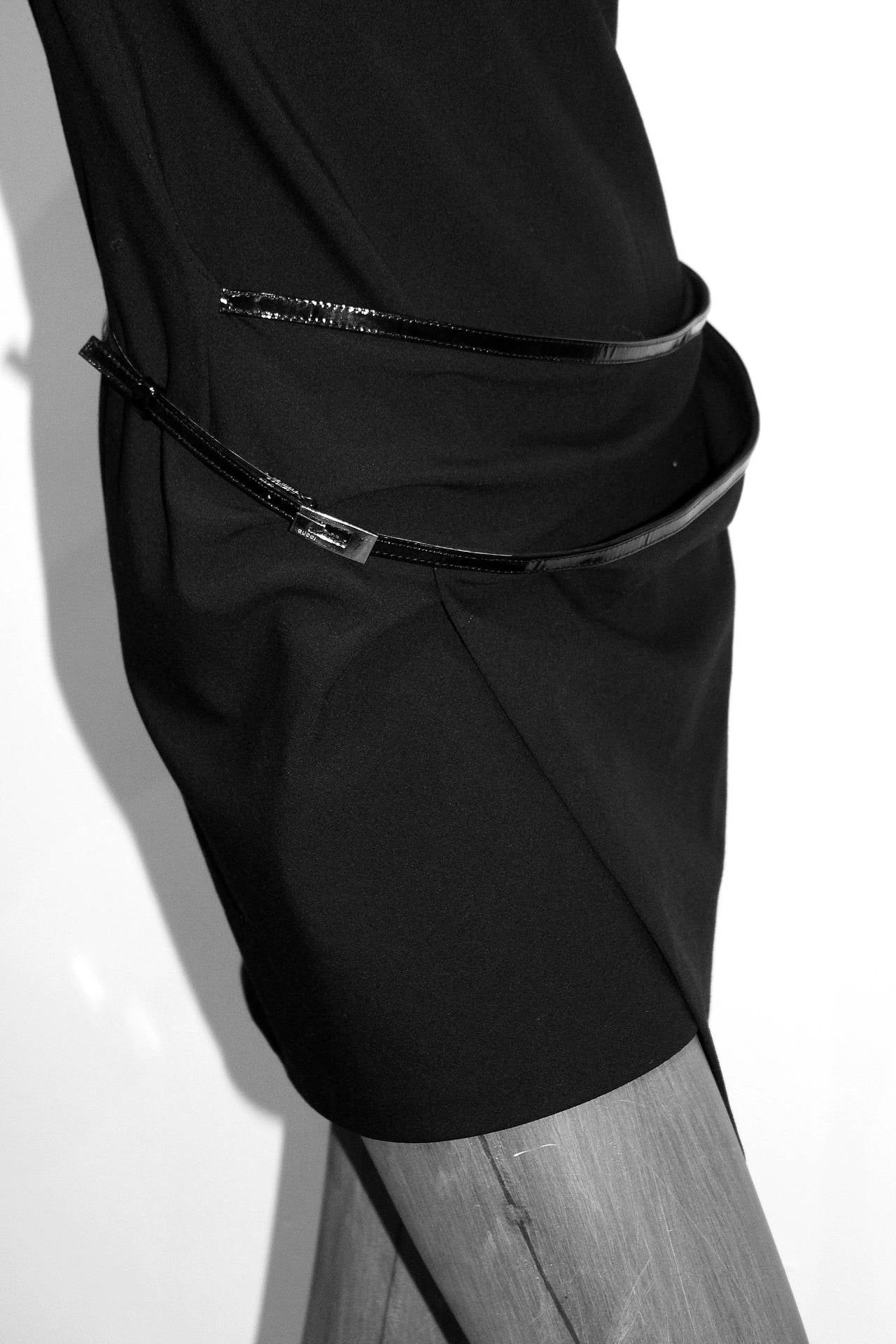 Women's Iconic 90s Tom Ford for Gucci Little Black Dress c. 1997