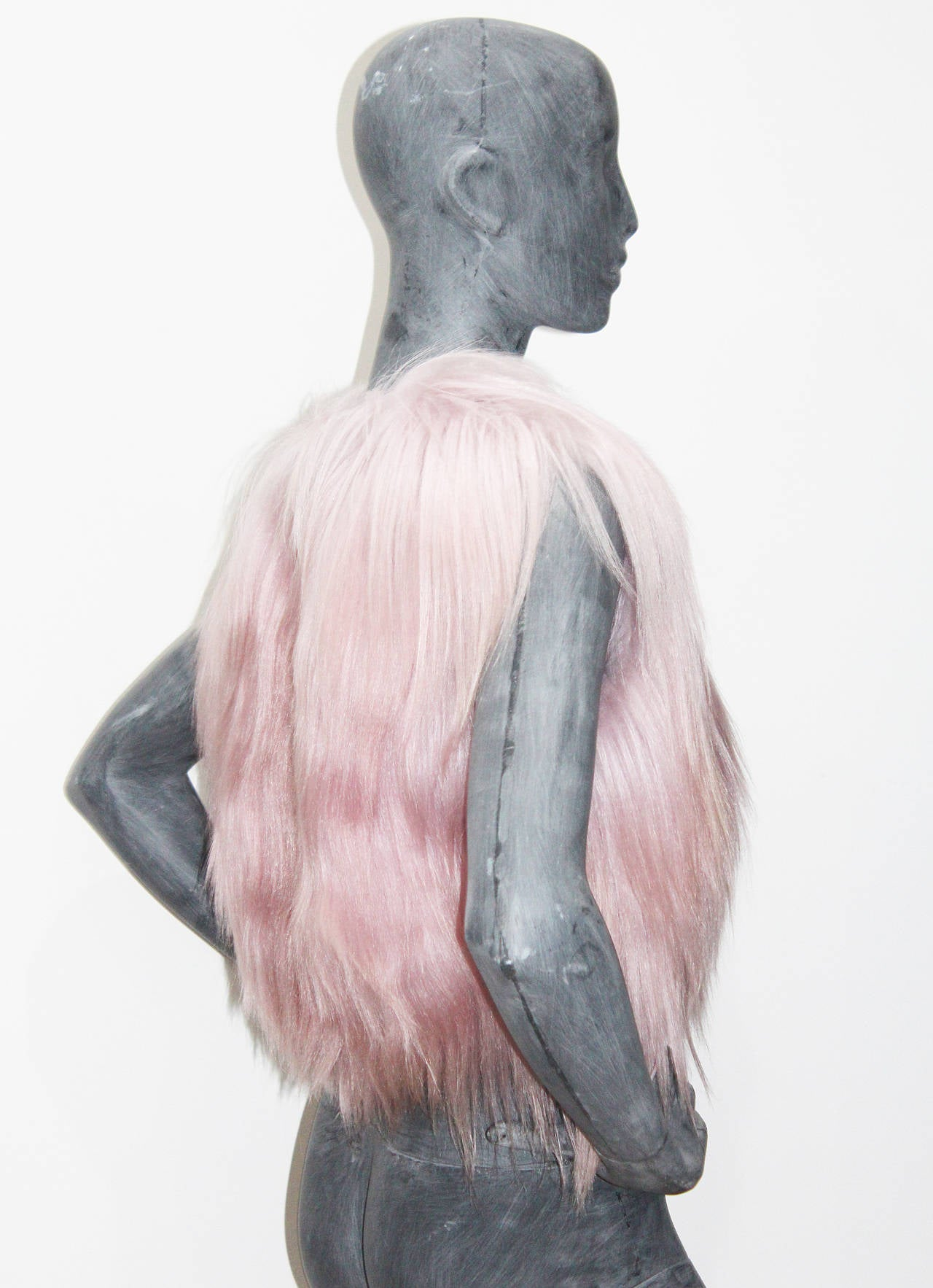 Christian Dior Dusty Pink Fur Gillet 5