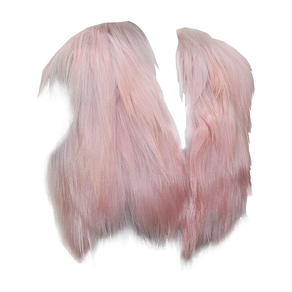 Christian Dior Dusty Pink Fur Gillet 1