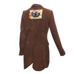 COMME des Garcons x Jamie Reid, 'God save our yobs' Chesterfield Coat  c. 2008