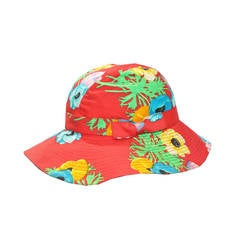 1990s Kenzo Paris Floral Cotton Bucket Hat