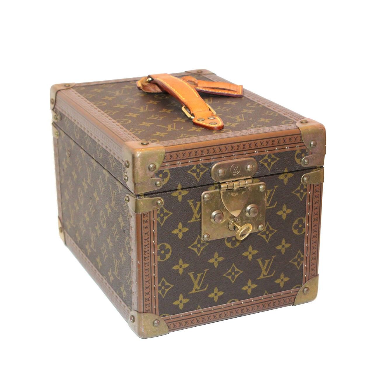 A Vintage Louis Vuitton Monogram Beauty Box at 1stdibs