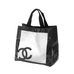 Fine and rare XXL Chanel Beach Bag c. 2008 - 2009