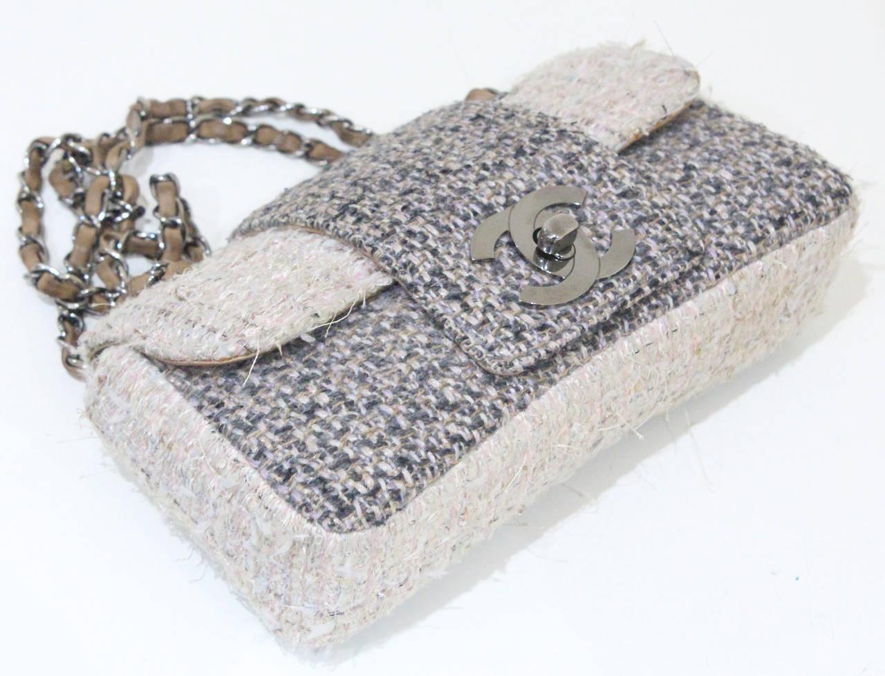 Chanel Fantasy Tweed Flap Bag 3