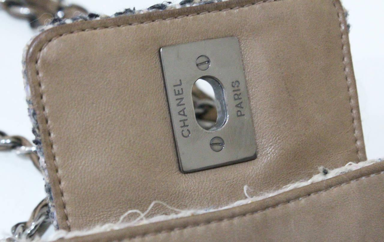 Chanel Fantasy Tweed Flap Bag 6