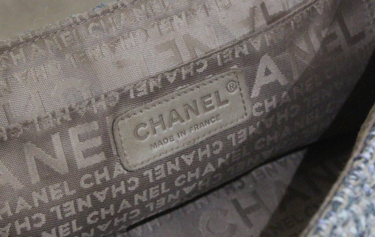 Chanel Fantasy Tweed Flap Bag 5