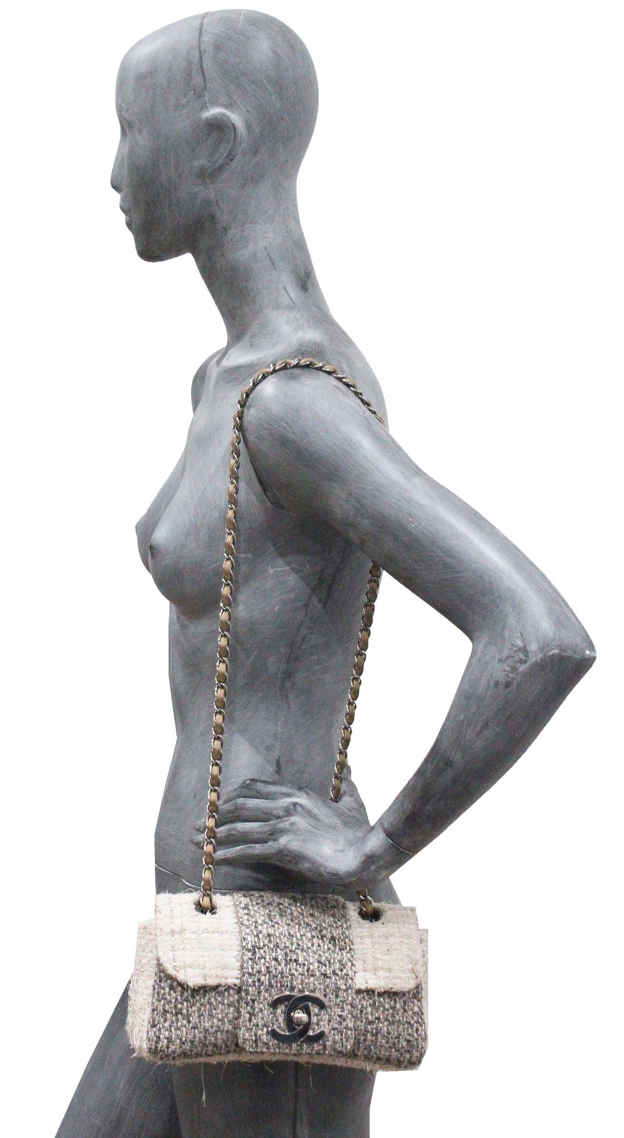 Chanel Fantasy Tweed Flap Bag 2
