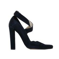 Rare Tom Ford for Gucci Runway Silk Ballerina Stiletto (Fall 2001) Size 39
