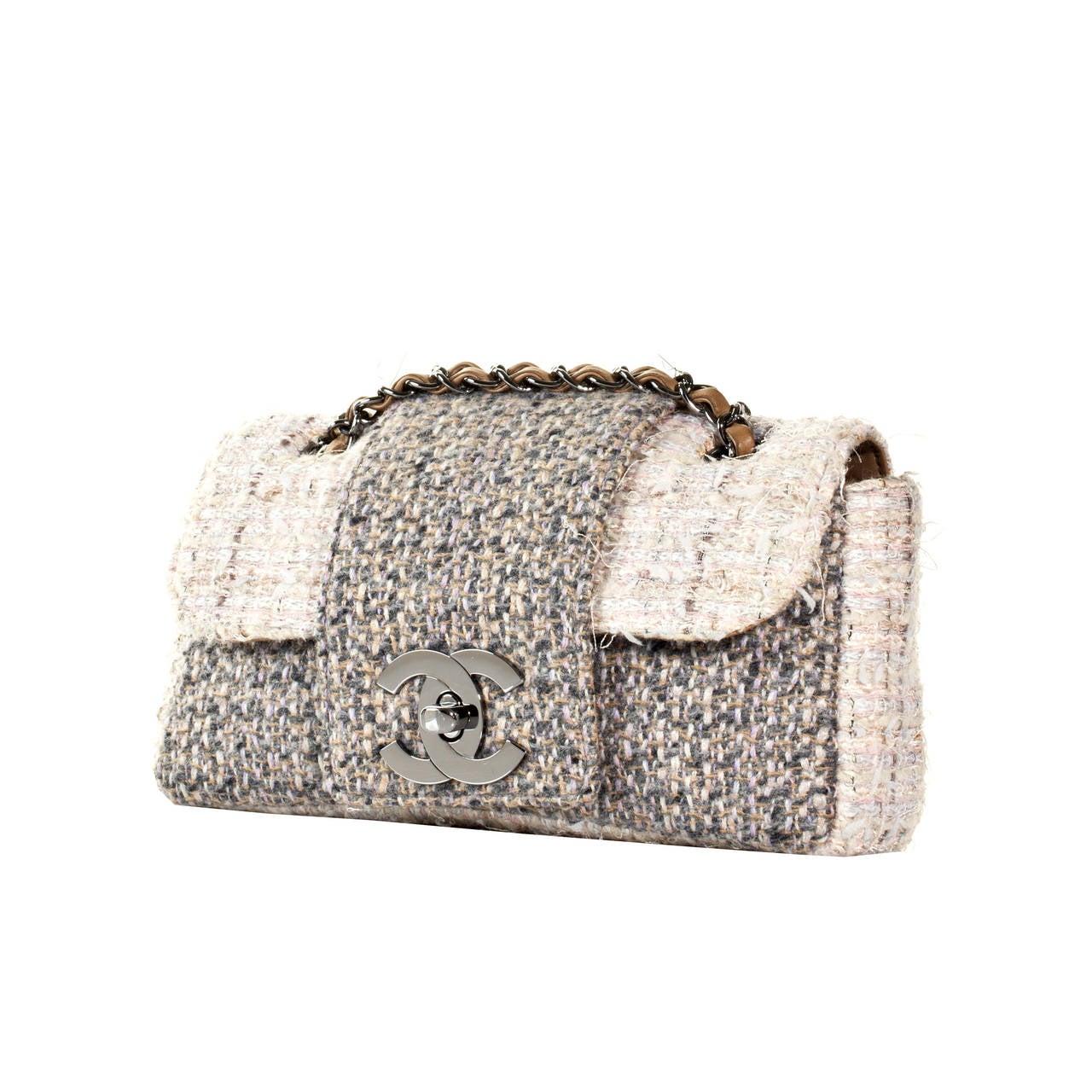 Chanel Fantasy Tweed Flap Bag 1