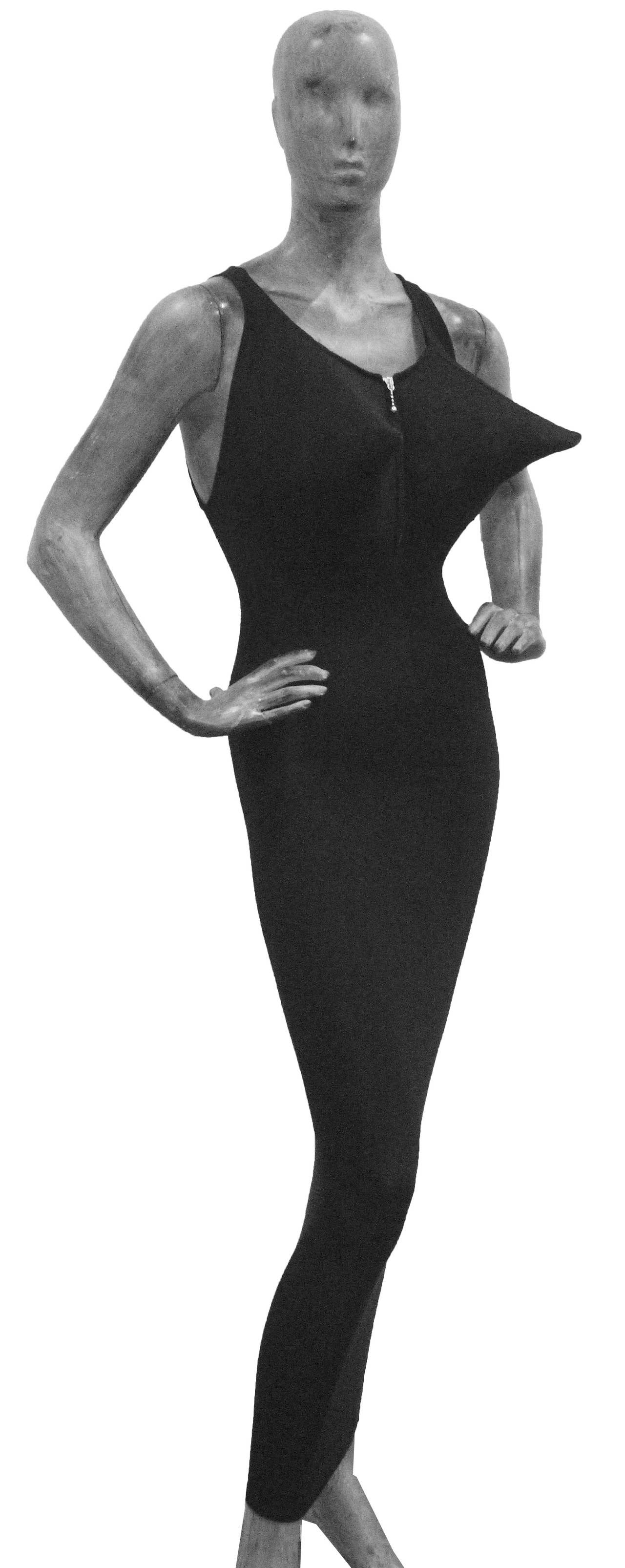 An Early Jean Paul Gaultier Exaggerated Breast Dress c. 1983-84 2