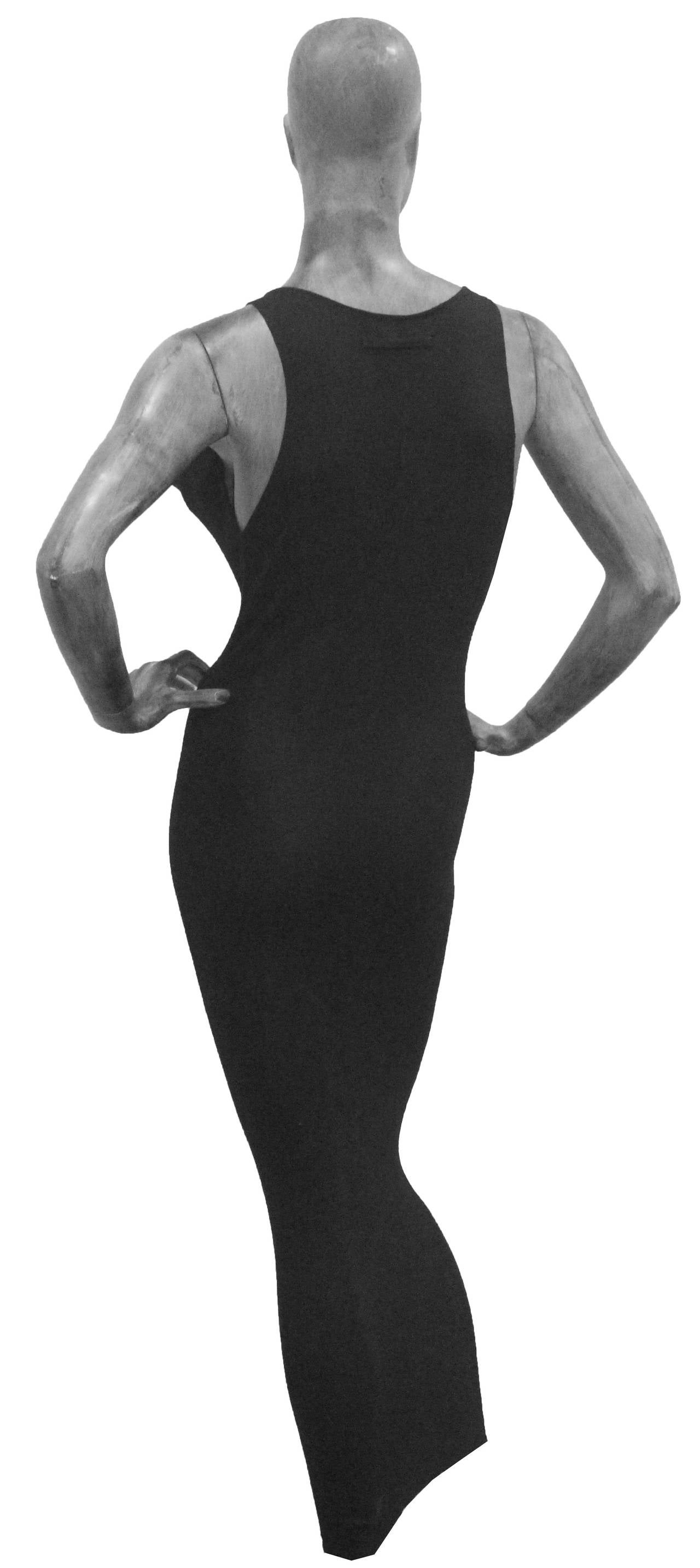 An Early Jean Paul Gaultier Exaggerated Breast Dress c. 1983-84 5
