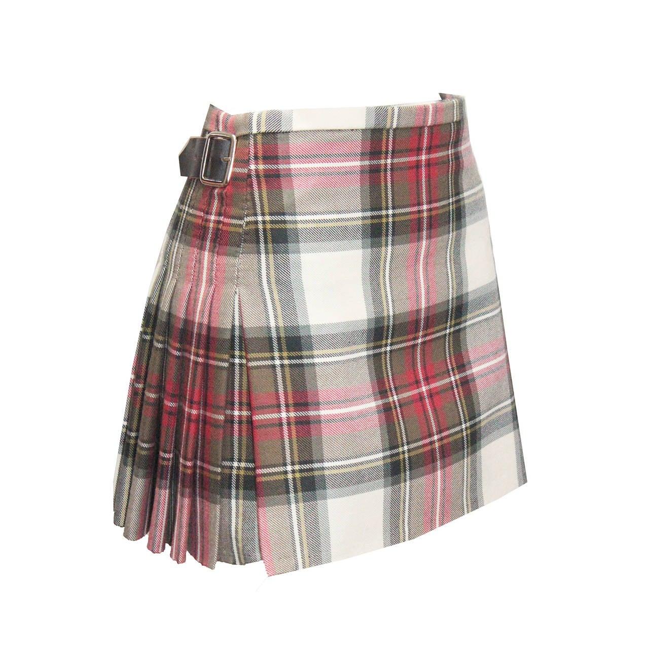 The Iconic Vivienne Westwood Pleated Kilt Skirt C 1994 At