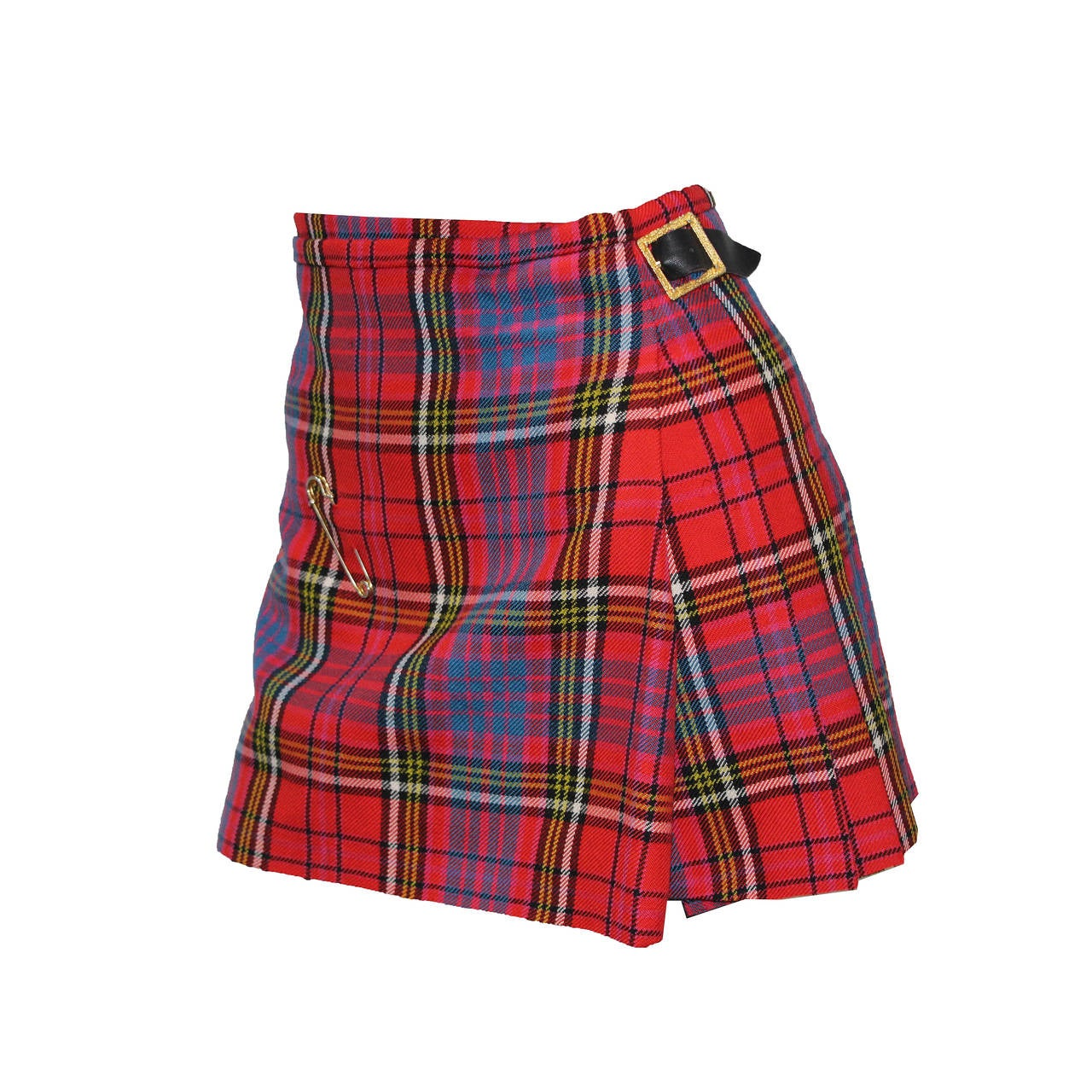 The iconic punk Vivienne Westwood pleated kilt skirt c. 1994 1