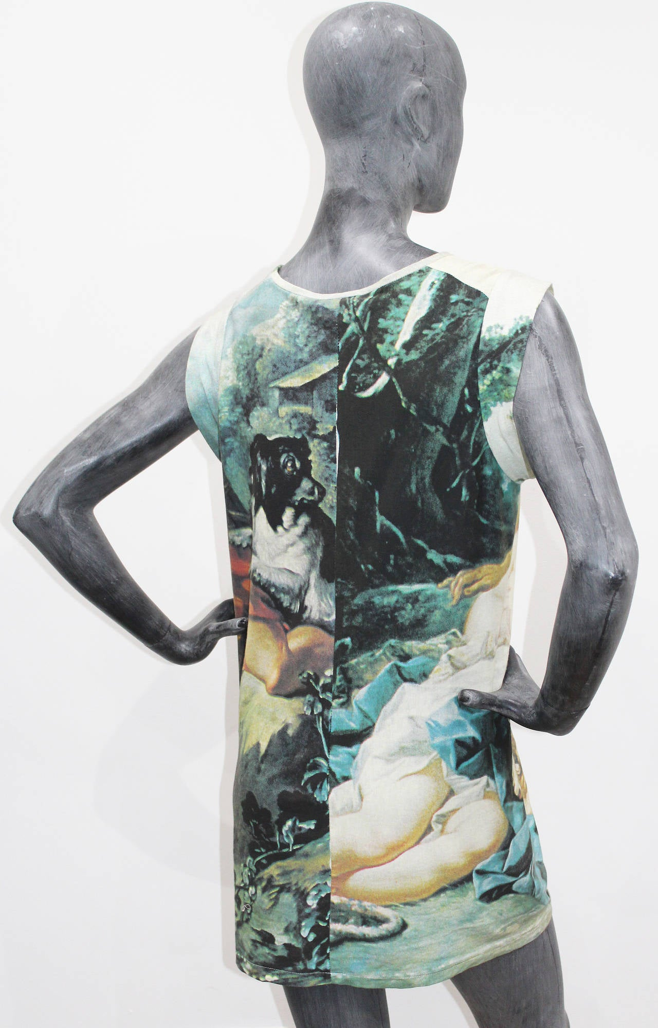 Iconic Vivienne Westwood Boucher Mini Dress From The Portrait Collection c.1990 3