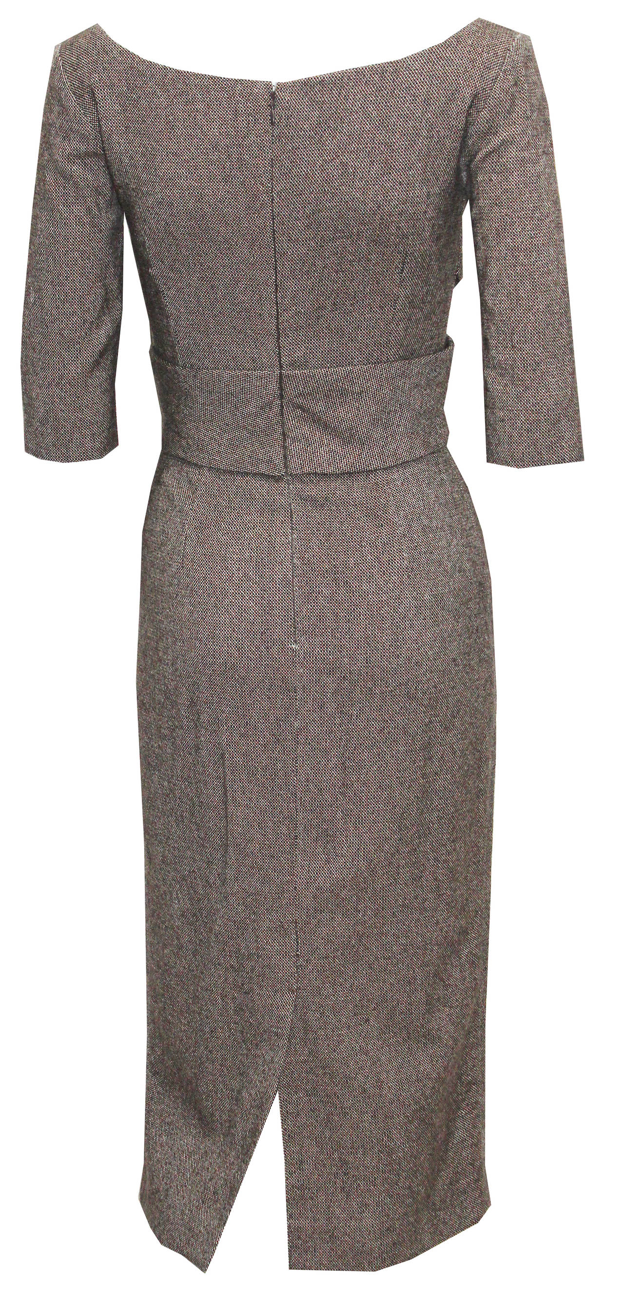 Alexander McQueen Runway Pin-up 50s inspired dress (Autumn/Winter 2005) In Excellent Condition For Sale In London, GB