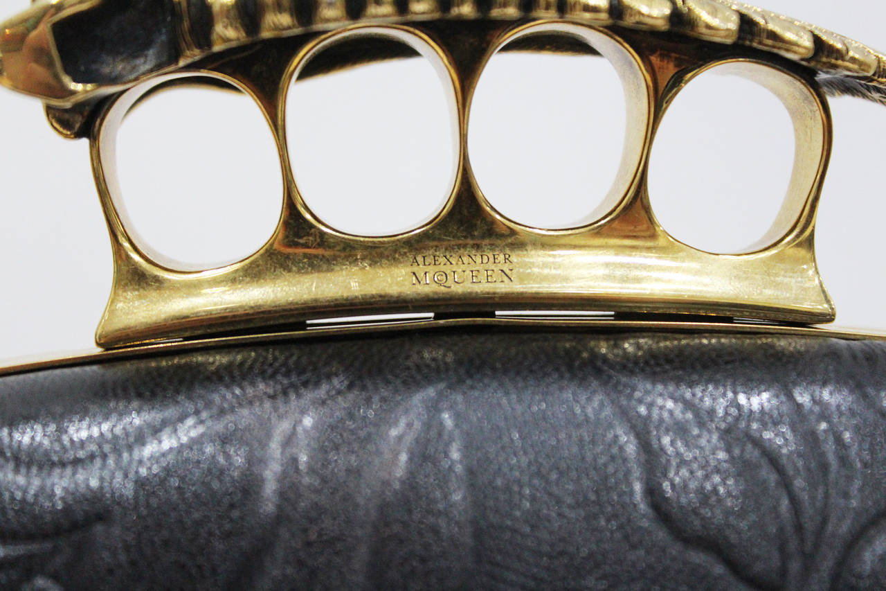 Alexander McQueen 'Angels and Demons' Fall 2010 Knuckle Duster Clutch Bag 4