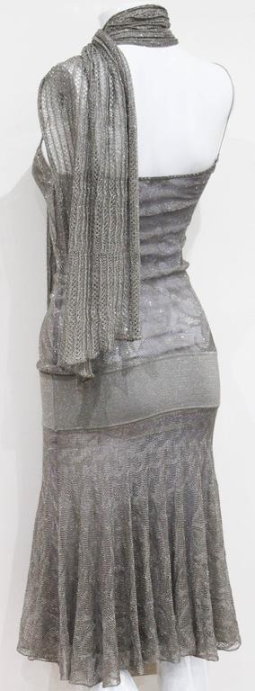 Chanel 1920s style flapper dress with scarf  4