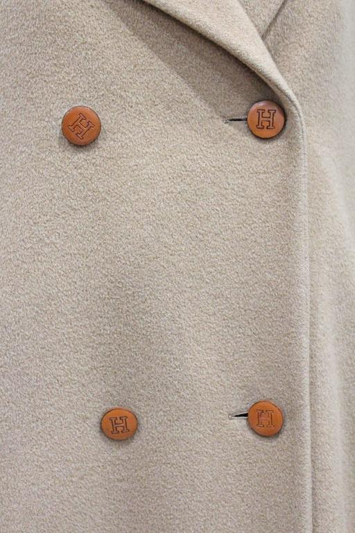 1970s Hermes Camel Hair Swing Coat  5