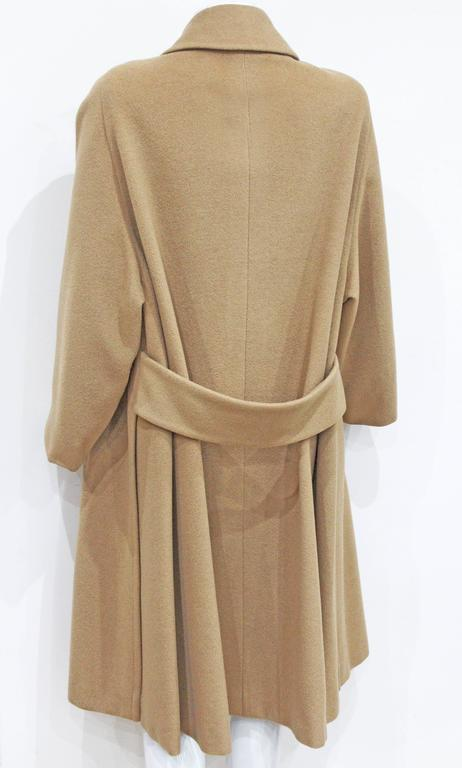 1970s Hermes Camel Hair Swing Coat  3