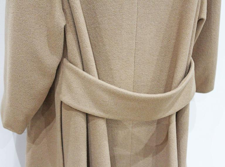1970s Hermes Camel Hair Swing Coat  4