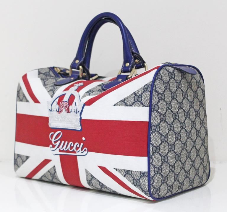 limited edition gucci union jack sloaney bag c 2009 at