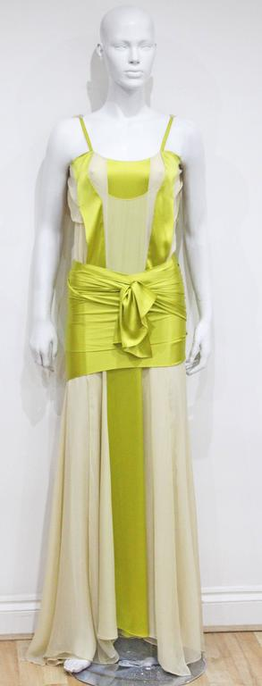 Tom Ford for Yves Saint Laurent Silk Evening Dress, c. 2004  2