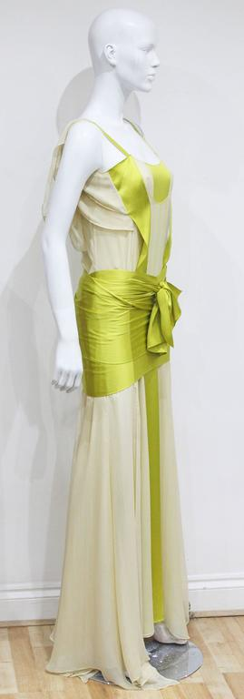 Tom Ford for Yves Saint Laurent Silk Evening Dress, c. 2004  5