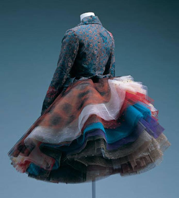 Vivienne Westwood Super voluminous layered tulle skirt, c. 1993  For Sale 5