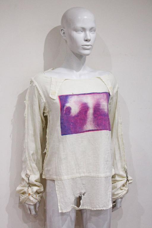 Seditionaries 'Tits' shirt by Vivienne Westwood and Malcolm Mclaren, c. 1977 In Fair Condition In London, GB