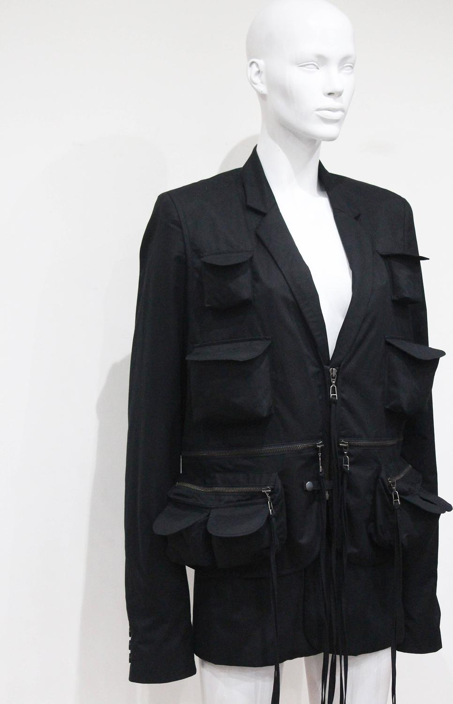 Raf Simons Consumed Military Blazer Jacket C 2003 At