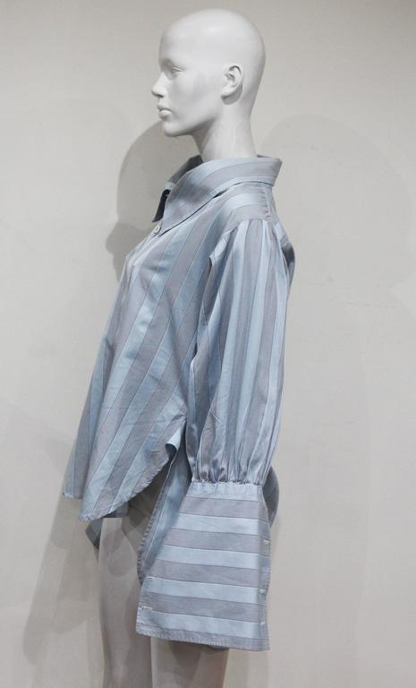 Worlds End by Vivienne Westwood and Malcolm McLaren oversized shirt, c. 1981 In Good Condition For Sale In London, GB