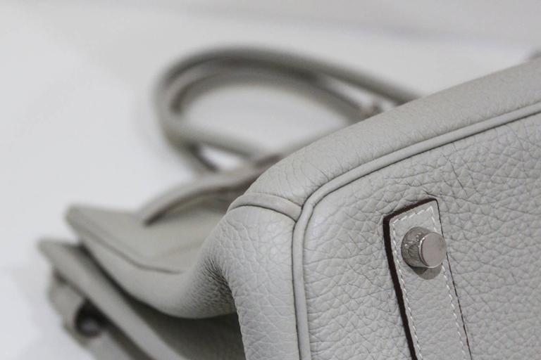 Hermes 35 cm Birkin Bag in Clemence Leather 9