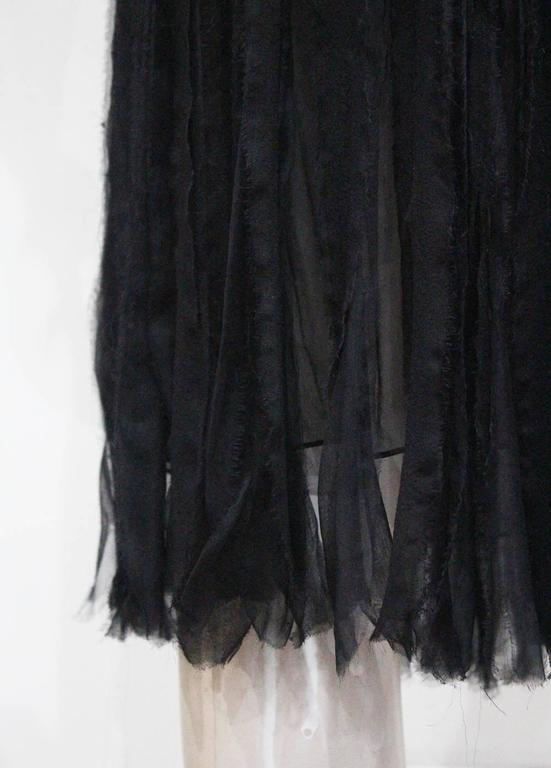 Givenchy silk chiffon corseted evening dress, c. 2007 For Sale 2