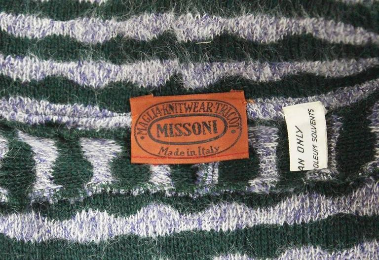 Missoni knitted wool cardigan, c. 1970s 5