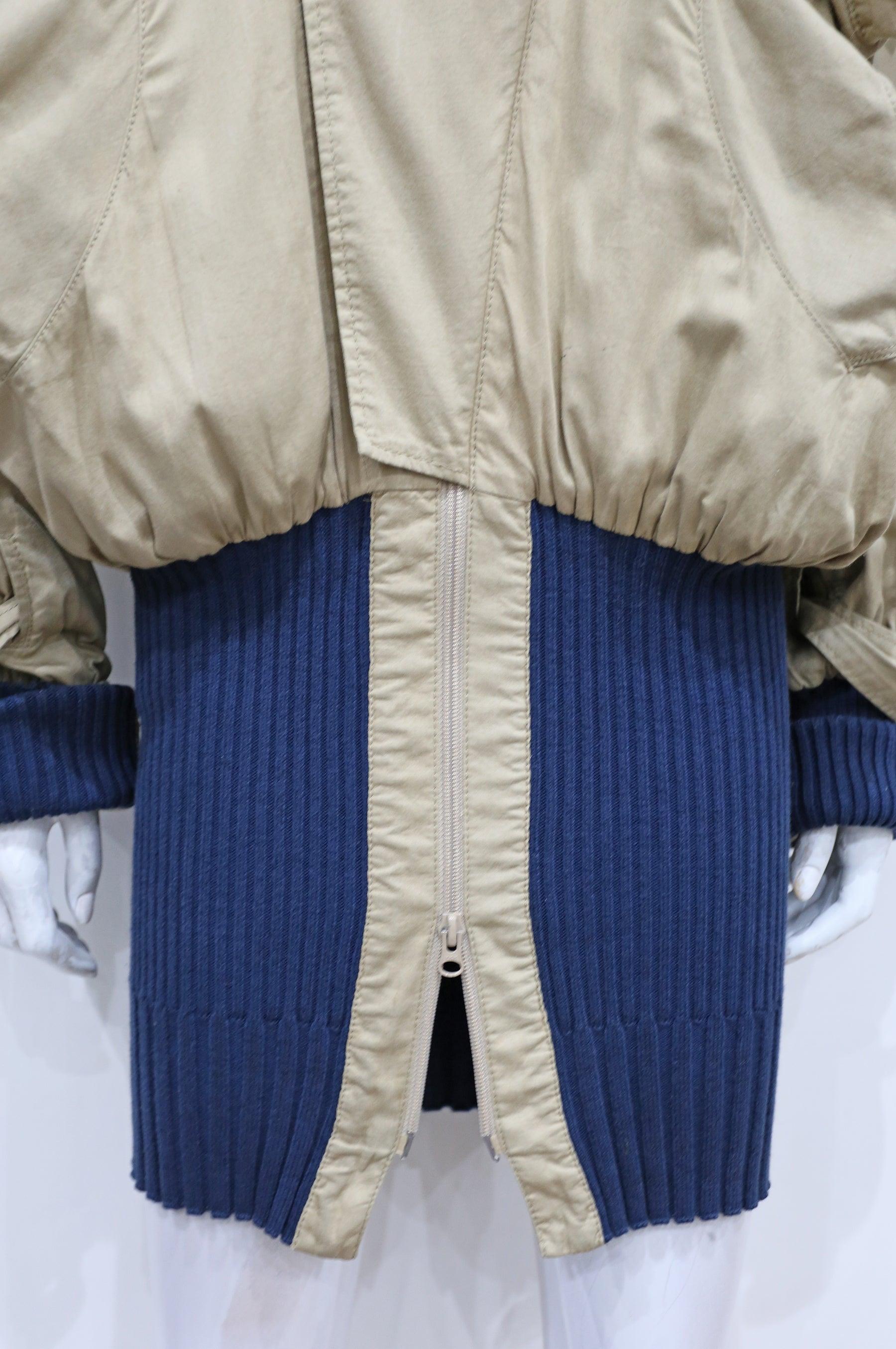 f4a61621b Vivienne Westwood unisex oversized 'Clint Eastwood' bomber jacket, c. 1990s