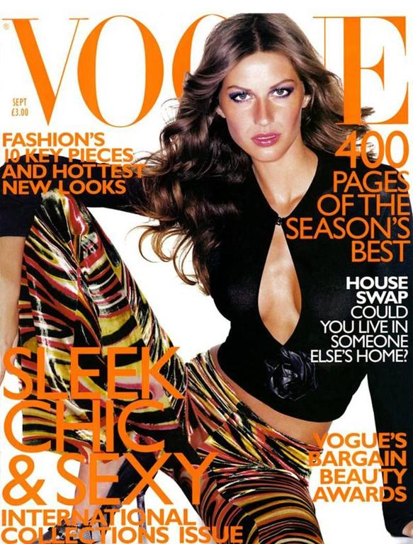 Important and rare Gucci by Tom Ford velvet bell bottoms from the Autumn - Winter 1999 runway collection, the pants also featured on the cover of the September 1999 issue of Vogue, modelled by Gisele Bündchen and photographed by Mario Testino. The