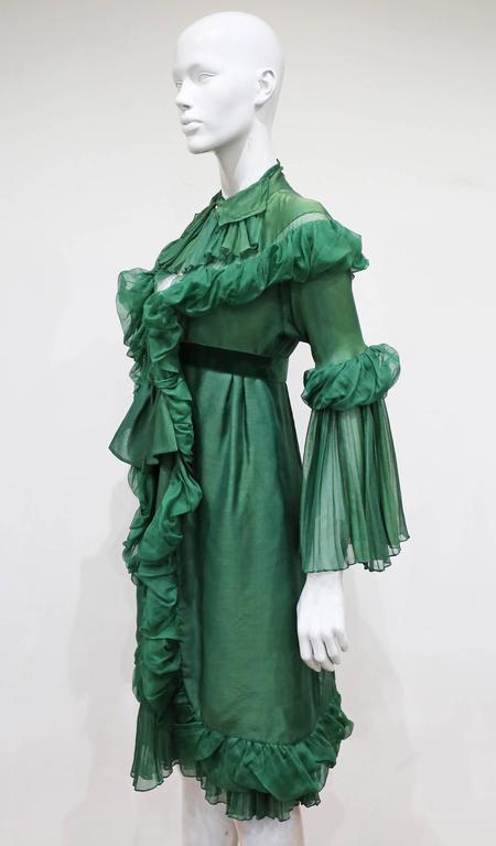Yves Saint Laurent by Stefano Pilati Met Gala Evening Dress, c. 2005 4