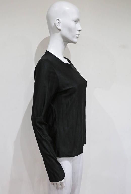 Helmut Lang deconstructed quilted sweater with slashed sleeves, c. 1997 5