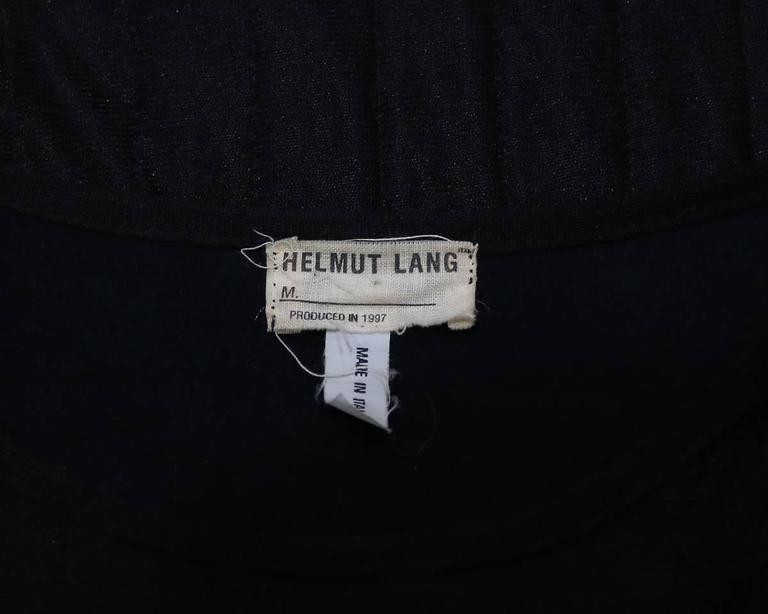 Helmut Lang deconstructed quilted sweater with slashed sleeves, c. 1997 6